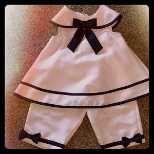 Adorable girls sailor outfit